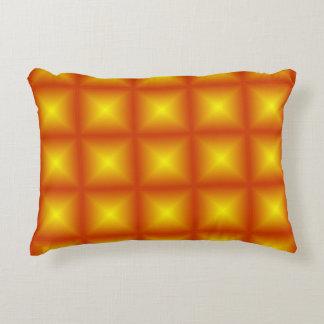 Goldstern-Polygeometrisches Dekokissen