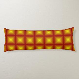 Goldstern-rötliches Polygeometrisches Seitenschläferkissen