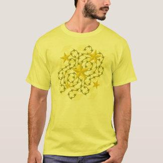 Goldstern-u. -widerhaken-T - Shirt