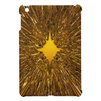 GoldSternexplosionmuster iPad Mini Hülle