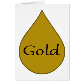 Goldstillende Preiskarte 1-jährig Karte