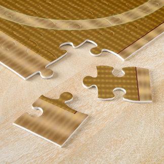 GOLDstreifen - geben Sie weg ZAHL EIN Geschenk Puzzle