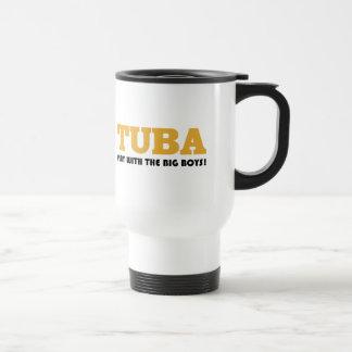 Goldtuba-Haltungs-Geschenk Reisebecher