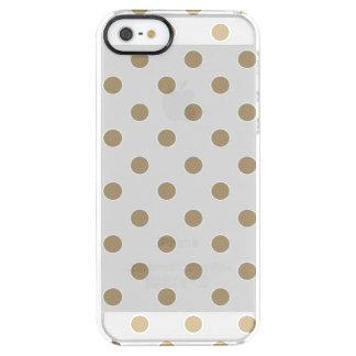 GoldTupfen Durchsichtige iPhone SE/5/5s Hülle