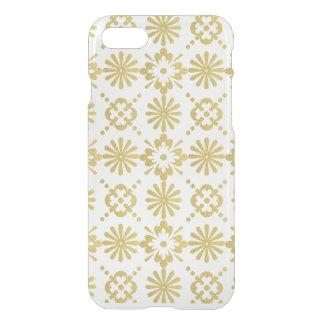 Goldviktorianisches inspiriertes Muster iPhone 7 Hülle