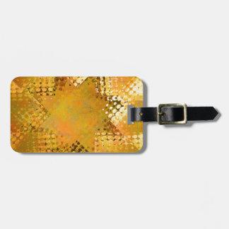 GoldVintager Halbtonstern Gepäckanhänger