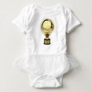 GoldVolleyballtrophäe Baby Strampler