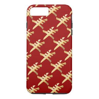 GoldYang-Symbol-Schaf-Ziegen-RAM, das Muster iPhone 8 Plus/7 Plus Hülle
