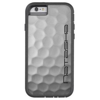 Golf-Ball bildet das personalisierte Tough Xtreme iPhone 6 Hülle