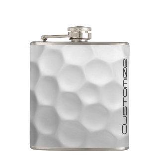 Golf-Ball-Flasche mit personalisiertem Namen Flachmann