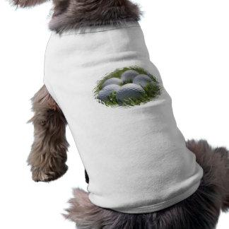 Golf-Ball-Hundeshirt Ärmelfreies Hunde-Shirt