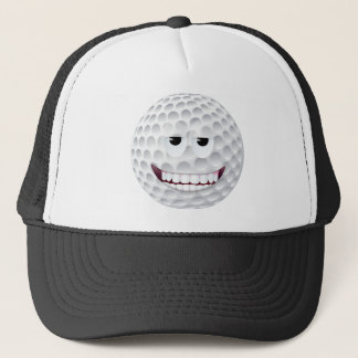 Golf-Ball-Smiley 2 Truckerkappe