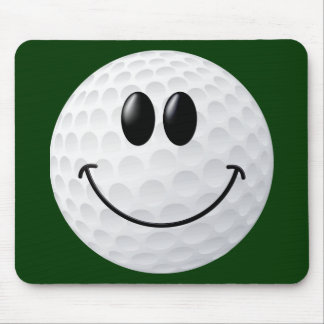 Golf-Ball-Smiley Mauspads