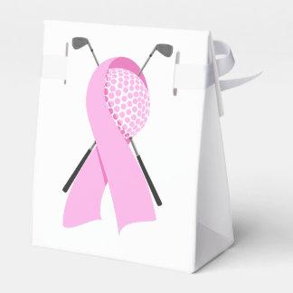 Golf-Brustkrebs-Bewusstsein Geschenkschachtel