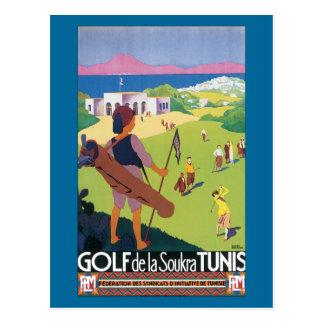 Golf de la Soukra Tunis Postkarte