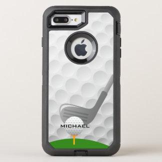 Golf-Entwurfs-Otter-Kasten OtterBox Defender iPhone 8 Plus/7 Plus Hülle