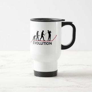 Golf-Evolution Reisebecher