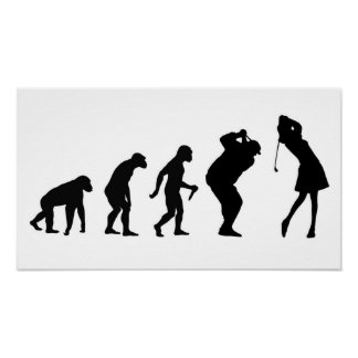Golf-Evolutions-Plakat