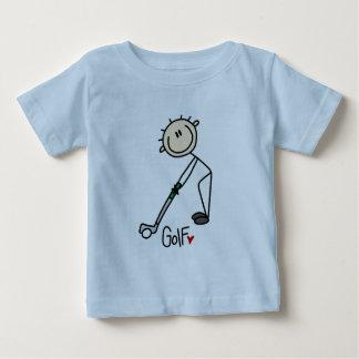 Golf-Geschenk Baby T-shirt