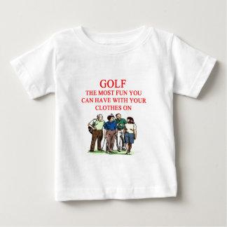 GOLF-Golfspielerwitz Baby T-shirt