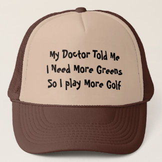 Golf-Grüntöne Truckerkappe