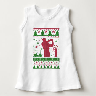 Golf-hässliches Weihnachten Kleid