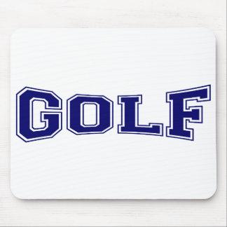 Golf-Hochschulart Mauspads