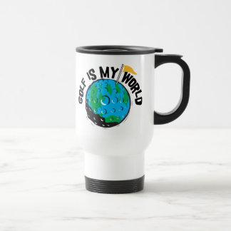 Golf ist meine Welt Kaffeehaferl