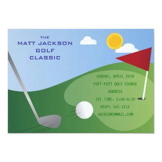 Golf-Klassiker-Einladung 12,7 X 17,8 Cm Einladungskarte