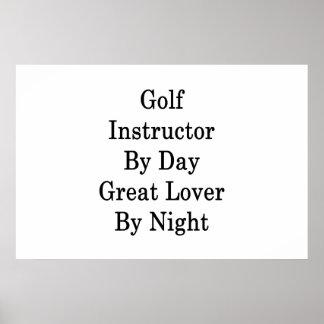 Golf-Lehrer durch Tagesgroßen Liebhaber bis zum Poster