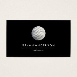 Golf-Lehrer-Visitenkarte Visitenkarten