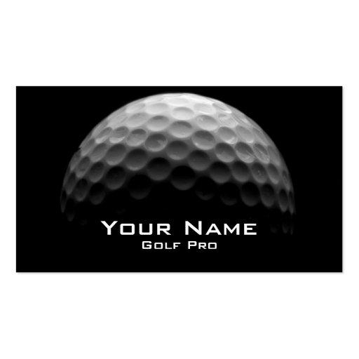 Golf-ProVisitenkarte Visitenkartenvorlage