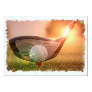 Golf-Putter-Einladung 12,7 X 17,8 Cm Einladungskarte