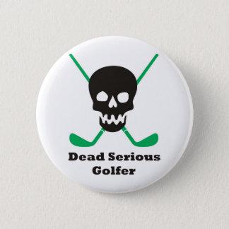 Golf Runder Button 5,1 Cm