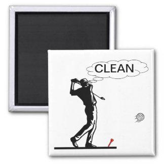 Golf-sauberer Spülmaschinen-Magnet Quadratischer Magnet