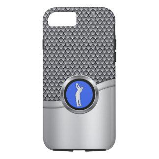 Golf-Schwingen-sportlicher metallischer Blick iPhone 8/7 Hülle