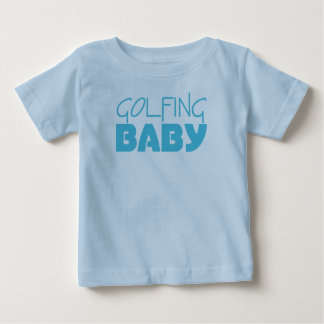 Golf spielende Baby-Jungen-T - Shirts oder