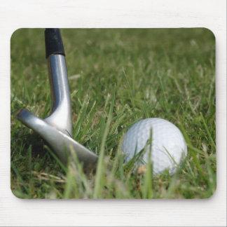 Golf spielende Foto-Mausunterlage Mousepad