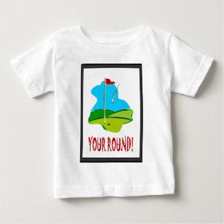 Golf spielende Momente Baby T-shirt