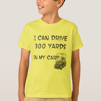 Golf spielender Antrieb T-Shirt
