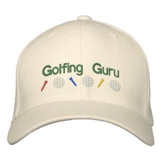 Golf spielendes Guru Bestickte Baseballkappe