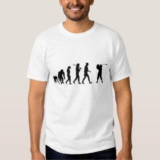 Golf-Spieler-Shirt-Loch in einer Golfspieler T Shirt