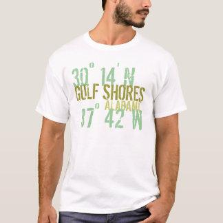 Golf stützt Haltung unter T-Shirt