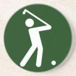 Golf-Symbol-Untersetzer