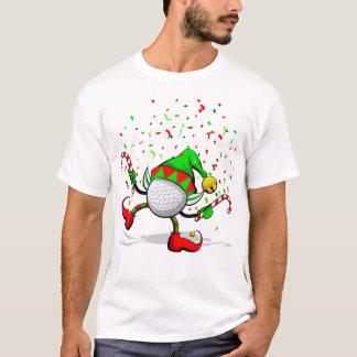 Golf-Tanzen-Weihnachtself T-Shirt
