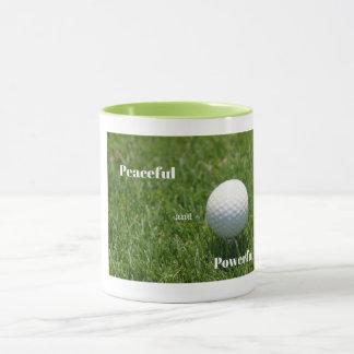 Golf-Tasse Tasse