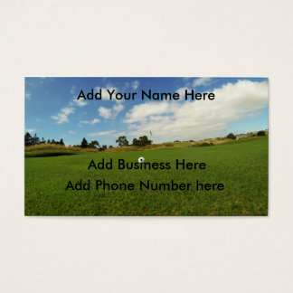 Golf, _The_Game, _Business_Cards, _(100), _Pack Visitenkarte