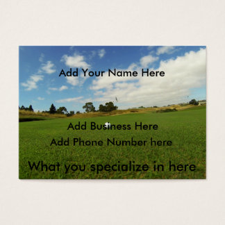 Golf, _The_Game, _Chubby_Business_Cards, _(100), Visitenkarte