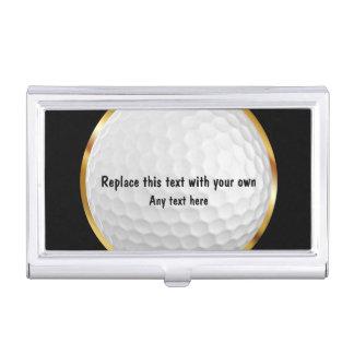 Golf-Thema-Visitenkarte-Kasten Visitenkarten Etui