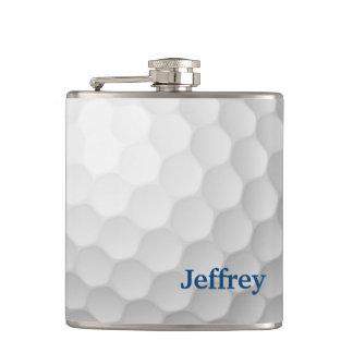 Golf-Themed Flasche personalisiert Flachmann